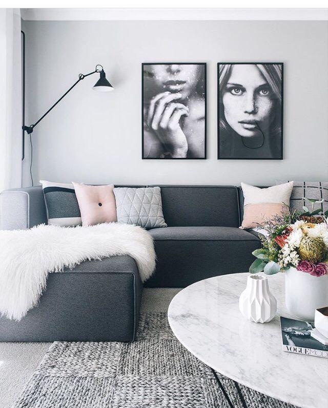 25+ best Grey walls living room ideas on Pinterest | Room ...
