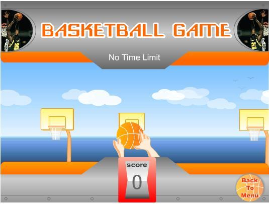 Get your timing right and click the Left mouse button to shoot. Score as many hoops as you can within the time limit (varies according to the skill level). Break a leg!