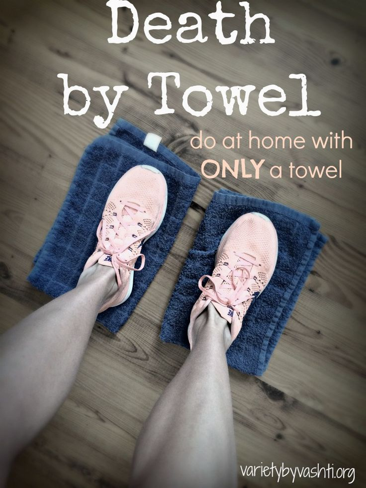 death by towel workout