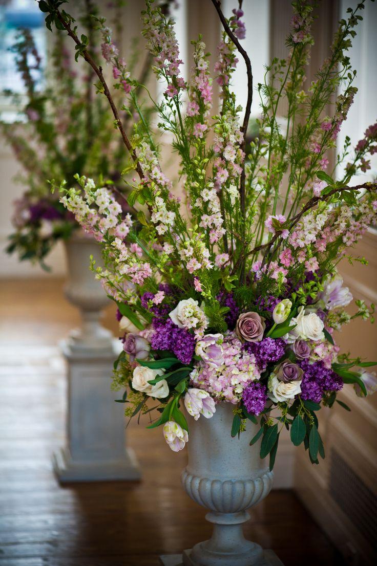 Color Inspiration: Monique Lhuillier + Lilac Wedding Ideas