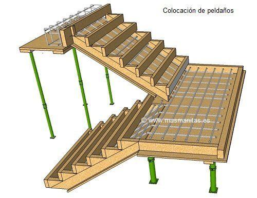 17 mejores ideas sobre escaleras exteriores en pinterest for Escaleras para casas de 2 pisos