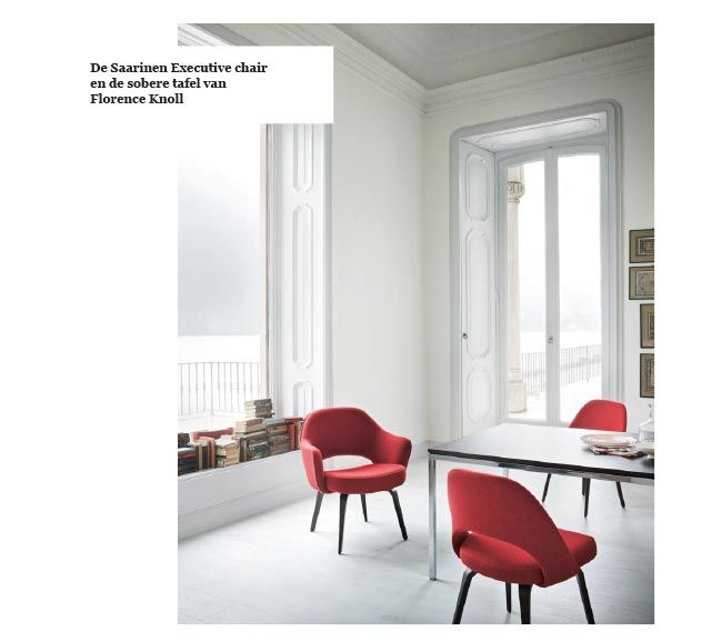 25 beste idee n over saarinen tafel op pinterest tulp tafel tulp stoel en wishbone stoel - Tafel knoll ...