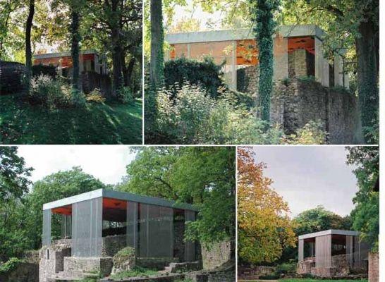 Vlotho fortress - Palas (Germany) LOMA architecture Landscape Urbanism