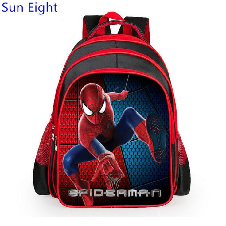 Sun Eight 3d spiderman bag backpack child boys school bags for ...