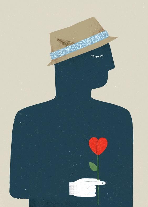 Cuvinte pe cale de dispariție, transpuse în ilustrații grăitoare    Vernalagnia: O stare sufletească romantică, adusă de venirea primăverii.