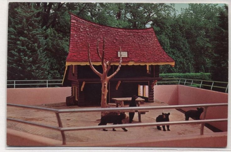 The classic bear house at Storybook Gardens in London, Ontario