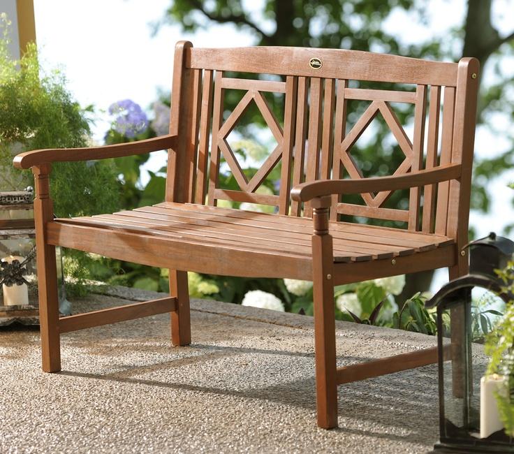 Diamond bench #kirklands #outdoorliving
