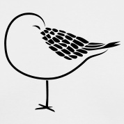 Seagull for tattoo