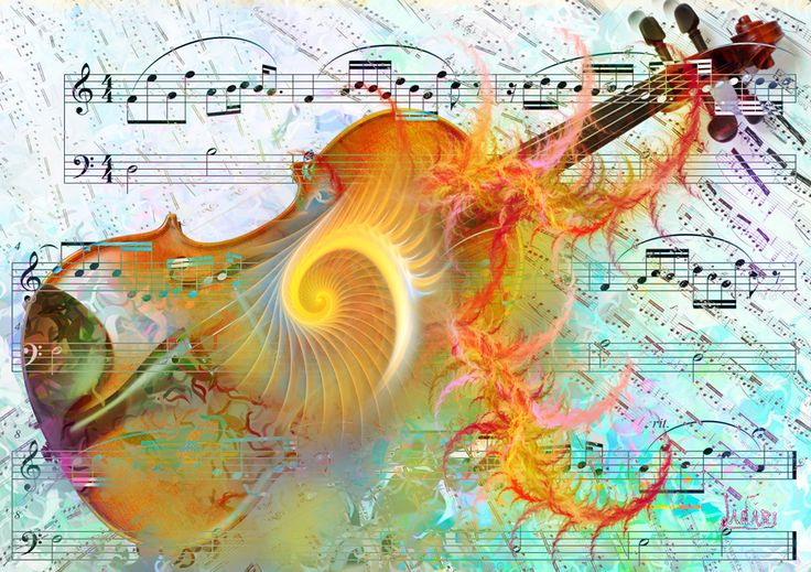 Fractal on the music 6