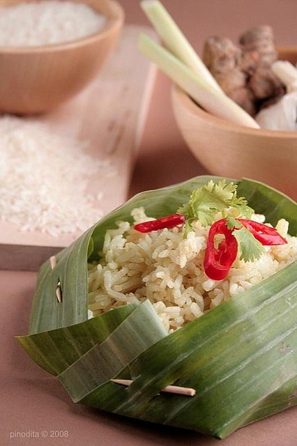 Nasi langgi~ Langgi Rice #Indonesian recipes #Indonesian cuisine #Asian recipes #Asian cuisine http://indostyles.com/
