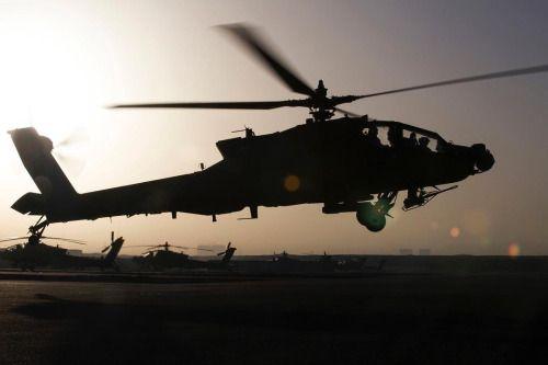 AH-64E Apache.