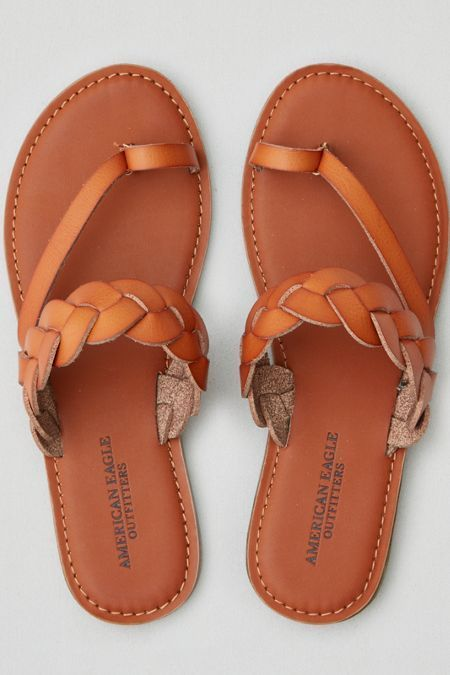 85cfdc42706fe2 amazon guarantee AE Braided Toe Ring Sandal Lowest price.