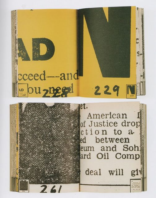 Dieter Rot(h) Collected Works (Daily Mirror Book) Stuttgart, Germany: Edition Hansjörg Mayer, 1970 472 pp., 23 x 17 cm., softcover