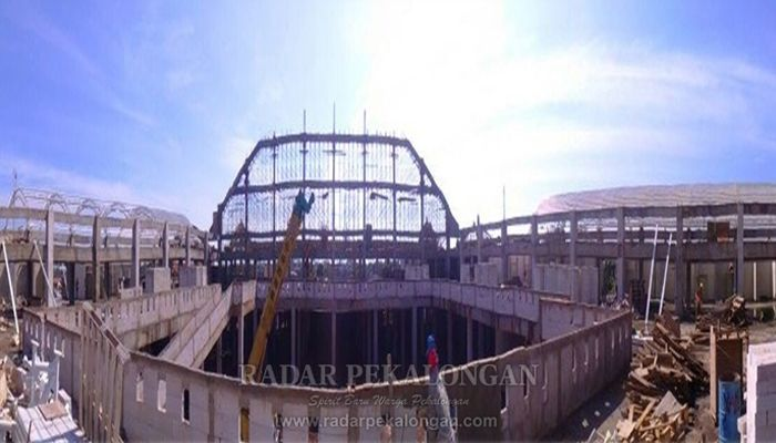 Konstruksi Pasar Batang Tinggal 20 persen
