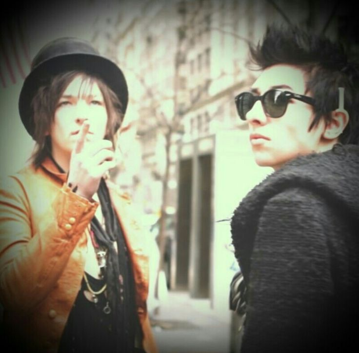 Emerson Barrett and Remington Leith | Palaye Royale in ...