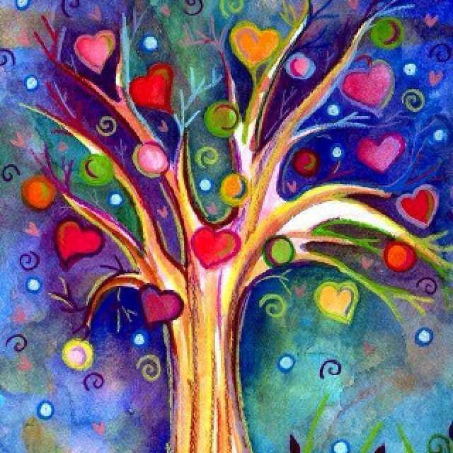 #JOYFUL #HEARTS ❤️ ❤️ LOVE the colors and brightness
