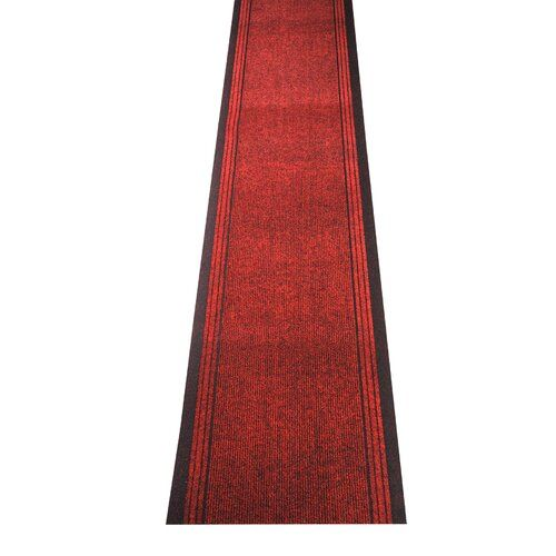 Kongo Red Indoor/Outdoor Area Rug Caracella Rug size: Rectangular 67 x 100cm