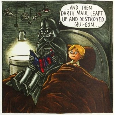 from 'Darth Vader and Son' by Jeffrey Brown