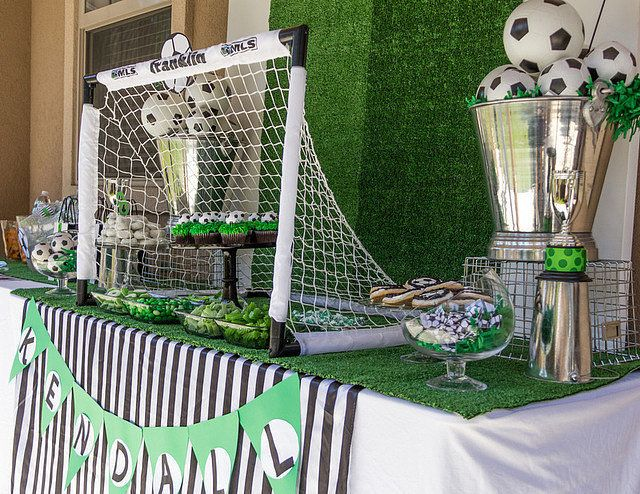 Girls' Soccer Birthday Party | POPSUGAR Moms