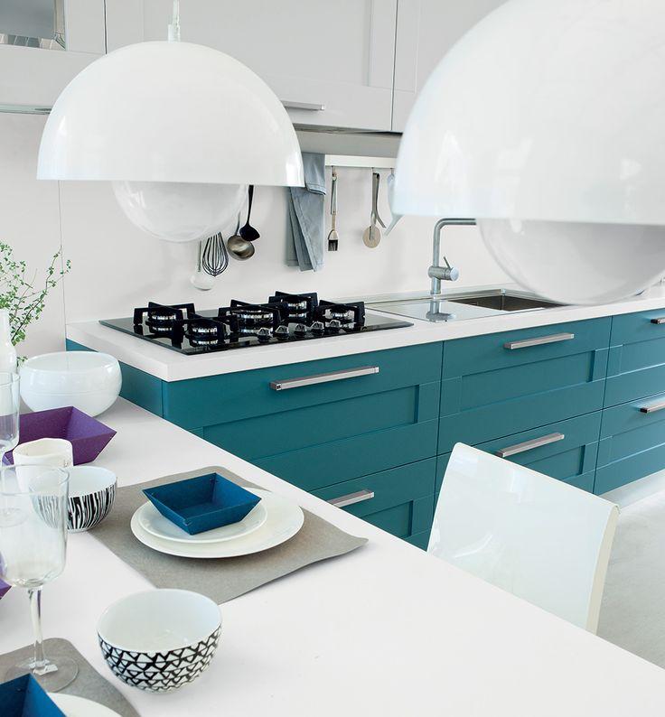 54 best Cucine Lube images on Pinterest | Catalog, Kitchen designs ...