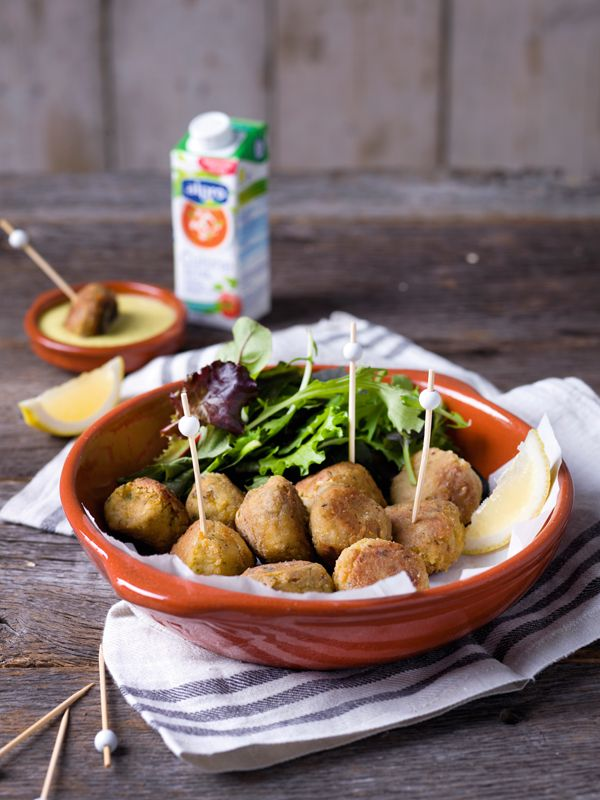Falafels aux pois chiches et sauce dip à la mangue | Spar