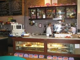 Coffee & cake counter