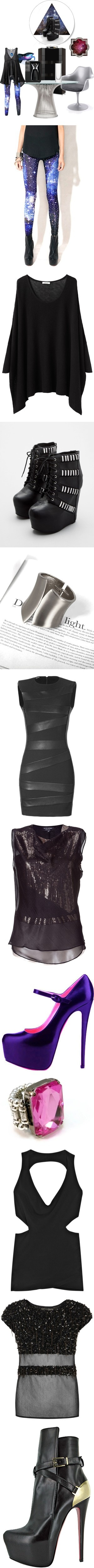"""How to wear Space Leggings!"" by india-davidson ❤ liked on Polyvore"