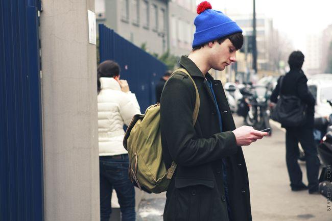 street fashion scene