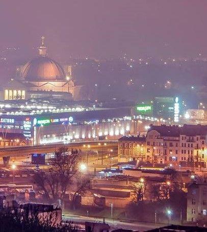 Night lights # Bydgoszcz Poland