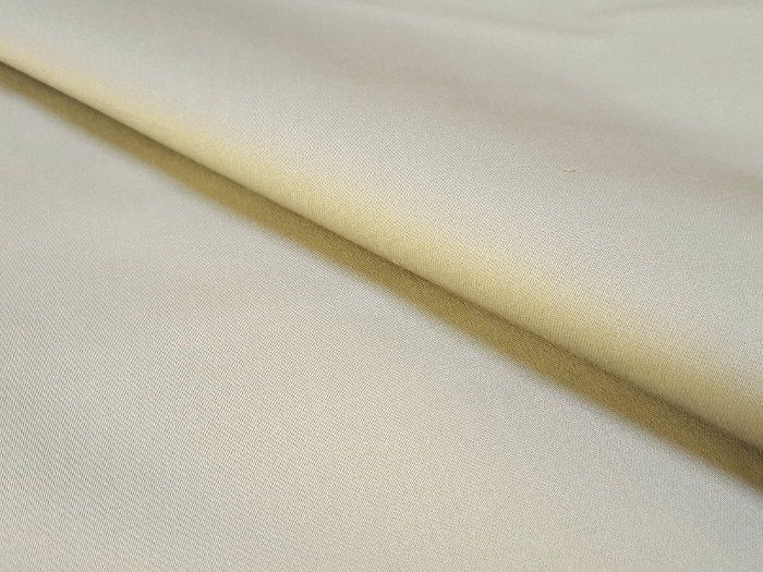 Satin de coton stretch gris tourterelle