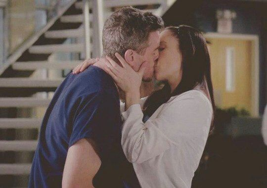 Mark Sloan and Lexie Grey