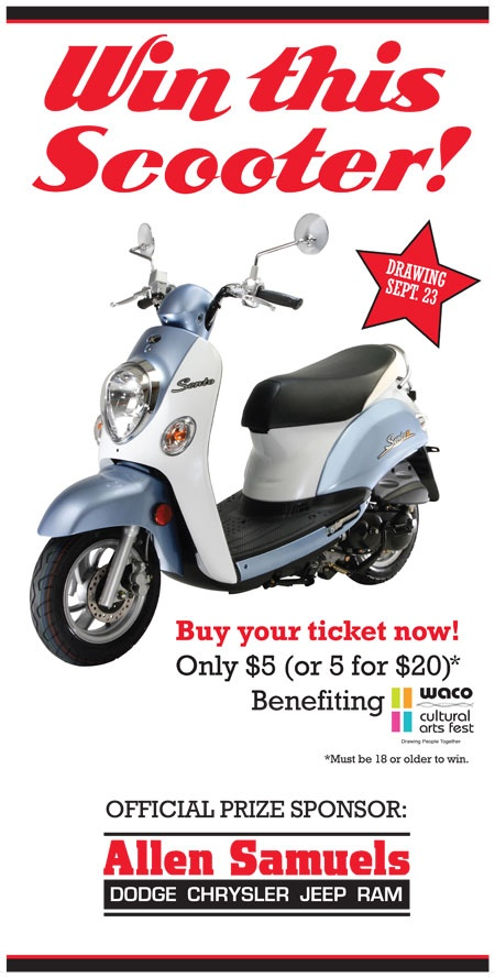 Win a Scooter Promotion Courtesy of Allen Samuels