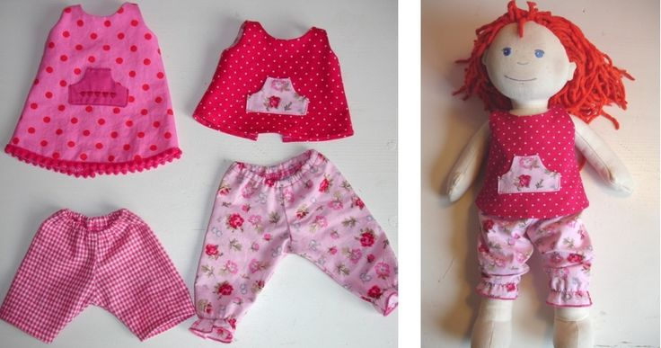 ´t Naaikamertje: Free Patterns Puppenkleidung Haba Puppe