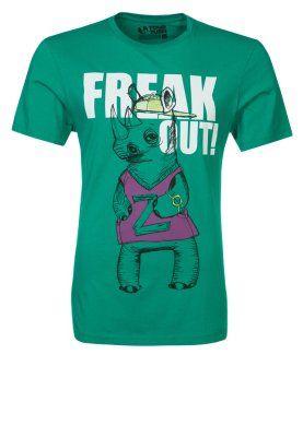 T-shirts print - grøn