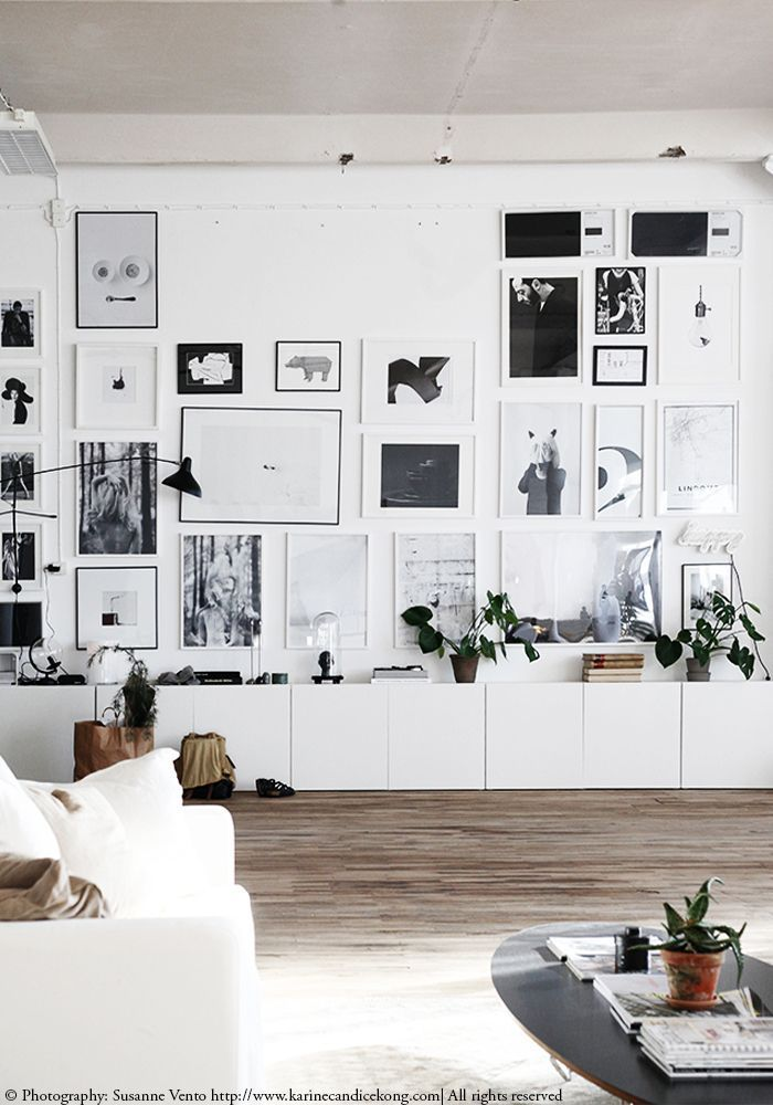 Gorgeous workspace taking wall display to the next level! Read on http://www.karinecandicekong.com