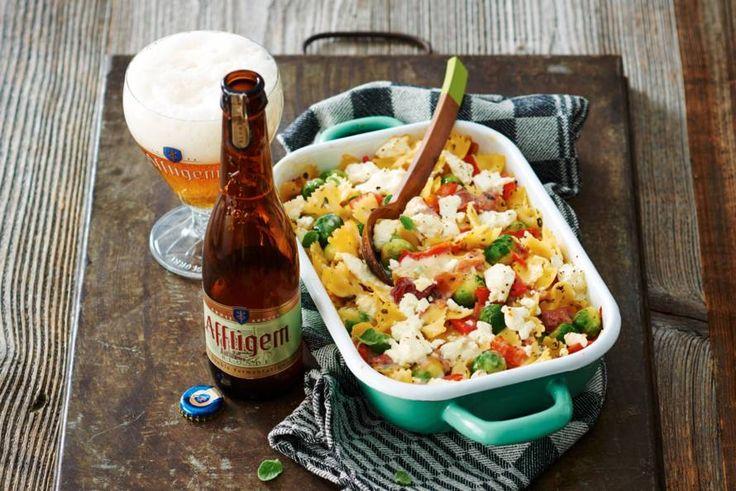 Dat je met bier zo lekker kunt koken, bewijst deze ovenschotel met Affligem…