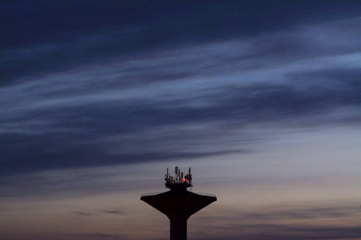 Betongomba típusú víztorony Hajdúszoboszlón  Forrás: MTI/Czeglédi Zsolt