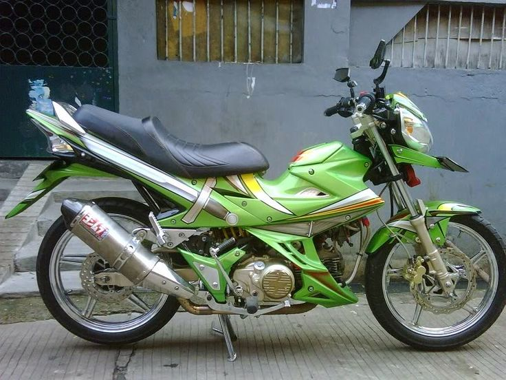 modifikasi motor kawasaki athlete