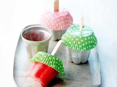 Aardbeien-ijslolly's (Libelle Lekker!)