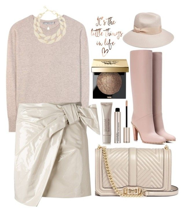 """It's the little things in life what matters"" by alaria ❤ liked on Polyvore featuring Vince, Isabel Marant, Rebecca Minkoff, DIANA BROUSSARD, Iris & Ink, Valentino, Bobbi Brown Cosmetics, By Terry, Laura Mercier and neutrals"