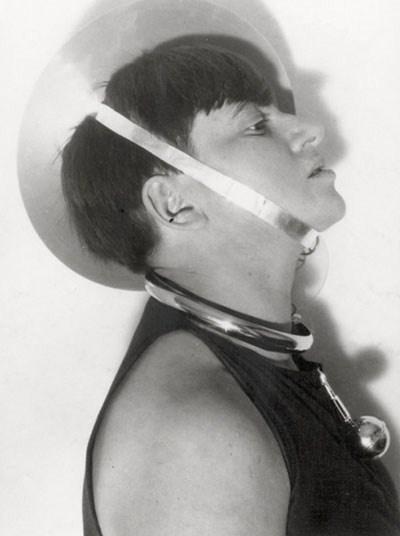 Marianne Brandt at the Weimar Bauhaus, 1924