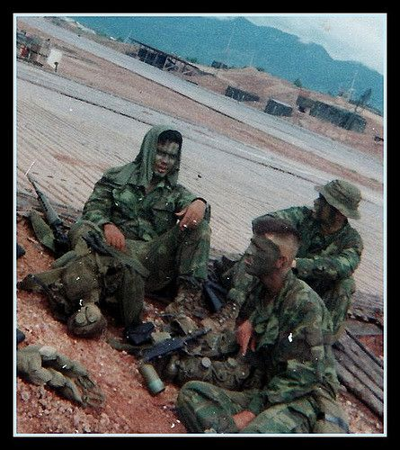Viet Nam 1970 They dumped us out of the chopper here becuse another team was in the shit and the seakight we were on was needed to help the team out.