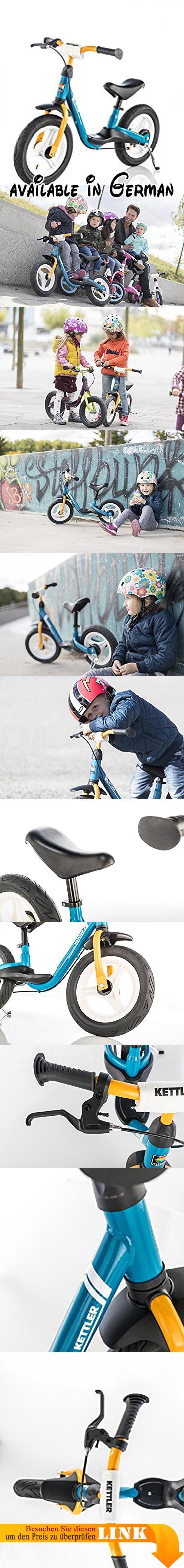 Kettler Laufrad Spirit Air 2.0 – das ideale & verstellbare Lauflernrad – Kinderlaufrad mit Reifengröße: 12,5 Zoll – mit Luftbereifung – stabiles & sicheres Laufrad ab 3 Jahren – blau & gelb. MIT TEMPO UNTERWEGS: Dieses Laufrad ab 2 Jahre ist ein absolutes Highlight vom Kindergarten bis ins Vorschulalter. Egal wohin es ab sofort geht - das neue Laufrad für Kinder muss mit!. LERNEN & SPIELEN: Das Fahren mit dem Kinder Laufrad macht nicht nur Spaß, sondern fördert