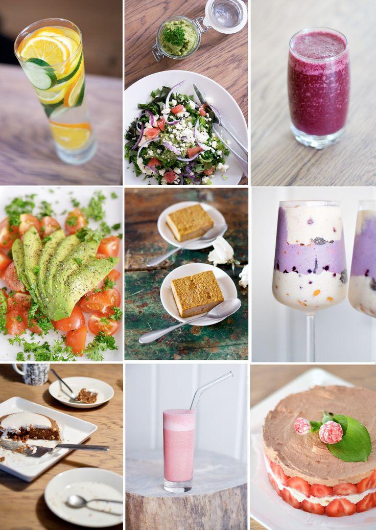 Raakaruoka, raakaruokareseptit, gluteeniton resepti, maidoton