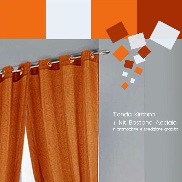 #Tenda Kimbra Verde + Kit Bastone Acciaio su Gandebia.it