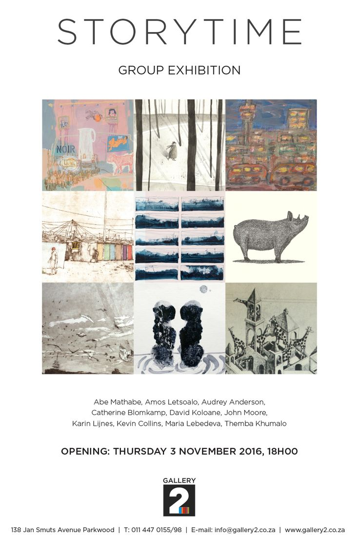 Firstthursday exhibition at Gallery2 - Johannesburg