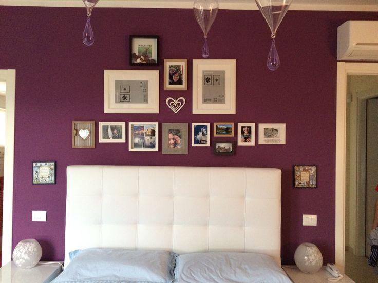 oltre 25 fantastiche idee su camera da letto viola su pinterest ... - Colori Per Le Pareti Della Camera Da Letto