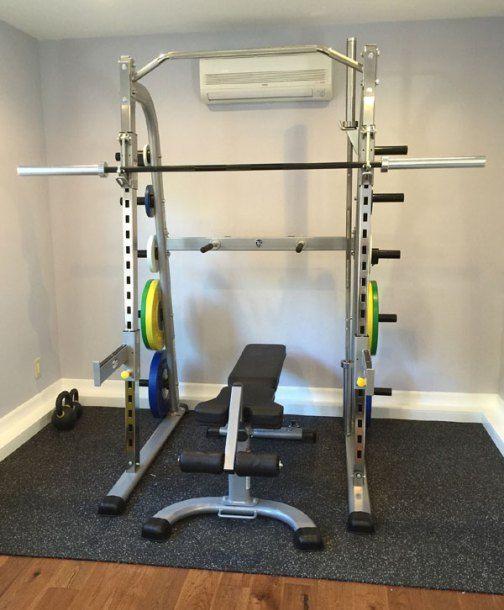 Best squat rack images on pinterest squats garage