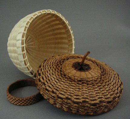Native American Baskets by Jeremy Frey at Home & Away Gallery
