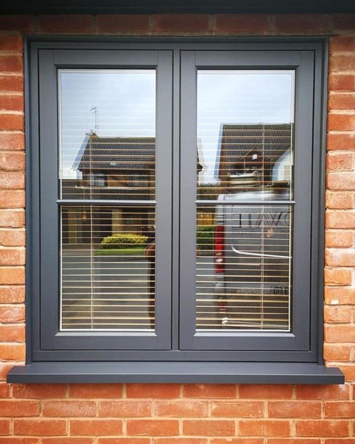Viewscape Laminated German Upvc Window And Door House Window Design Casement Windows Exterior Cottage Windows